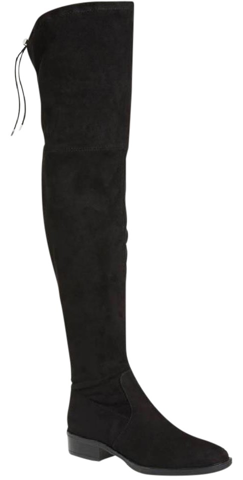 0ed796681 Sam Edelman Black New Paloma Over The Knee Boots Booties Size US 8 ...