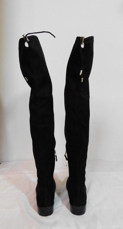 6a8a29b0d Sam Edelman Black New Paloma Over The Knee Boots Booties Size US 8 Regular ( M