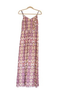 Pink Floral Maxi Dress by Broadway & Broome Summer Silk Maxi