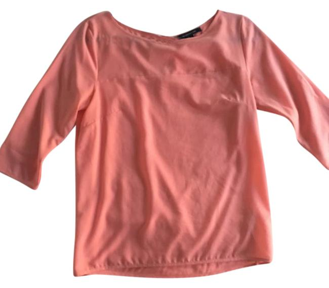 Preload https://img-static.tradesy.com/item/21835420/french-connection-coral-peach-34-sleeve-blouse-size-2-xs-0-3-650-650.jpg