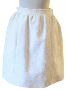 Carven Mini Skirt white