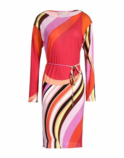 Preload https://img-static.tradesy.com/item/21835458/emilio-pucci-pink-mid-length-cocktail-dress-size-6-s-0-0-650-650.jpg