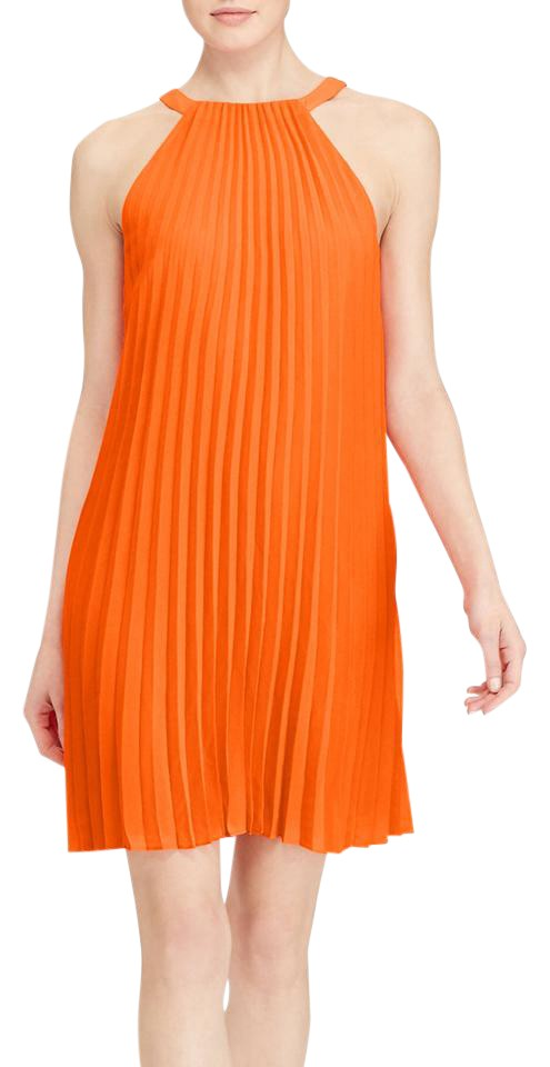 A Line Pleated Dress