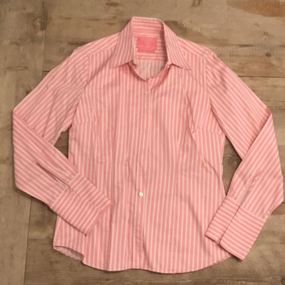 Charles tyrwhitt pink fitted shirt double cuff button for Charles tyrwhitt shirts review