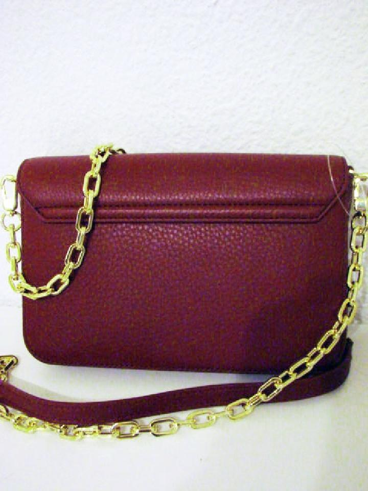 0b16f8e929a6 Tory Burch Mercer Classic (Deep Berry) Shiraz Leather Cross Body Bag ...