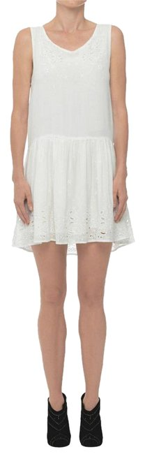 Preload https://img-static.tradesy.com/item/21836163/anine-bing-white-embroidered-short-casual-dress-size-8-m-0-2-650-650.jpg