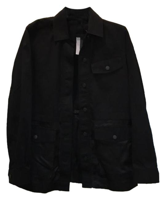 Alexander Wang Button Down Longsleeve Cotton Loose Fit black Jacket Image 1