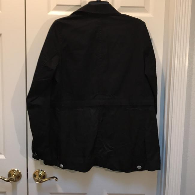 Alexander Wang Button Down Longsleeve Cotton Loose Fit black Jacket Image 5