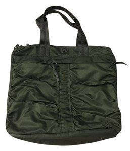 Lululemon Nylon Laptop Tote in green