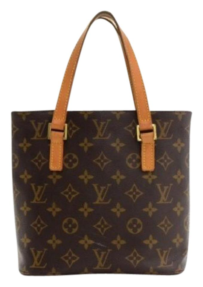 bf381c12a024 Louis Vuitton Vavin Pm Small Monogram Shoulder Brown Leather Tote ...