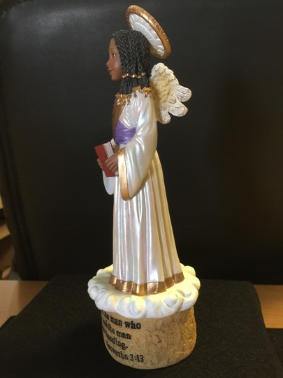 Oher Wisdom Figurine; Proverbs 3:13 [ SisterSoul Closet ]