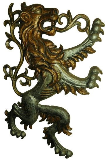 Artistry Game of Thrones Metal Scottish Fighting Lion