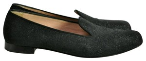 Penelope Chilvers Black with shiny sequin Flats