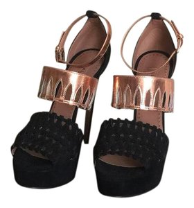ALAA black & copper Platforms
