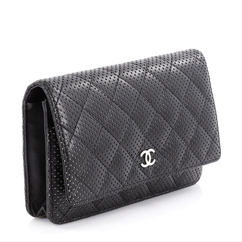 cb075867c5a3a7 Chanel Wallet Black Leather | Stanford Center for Opportunity Policy ...