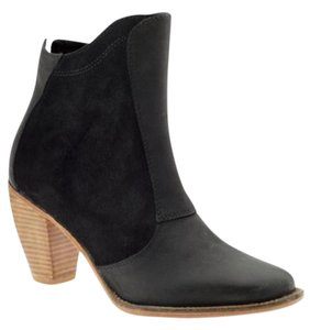 J SHOES Ankle Leather Suede Frye Black Boots