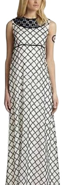 Tory Burch Ivory Madeline Gown Long Night Out Dress Size 0 (XS) Tory Burch Ivory Madeline Gown Long Night Out Dress Size 0 (XS) Image 1