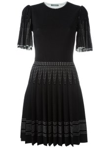 Alexander McQueen Fit And Flare Gown Cocktail Dress
