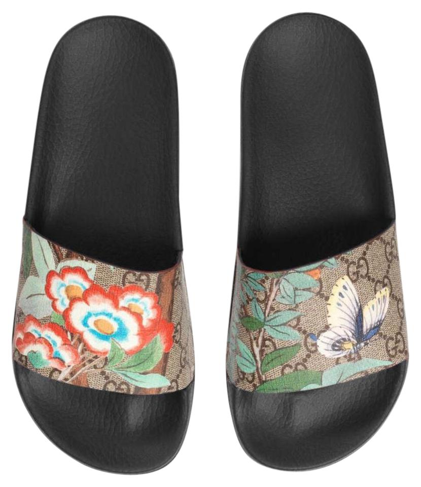 b838f8359 Gucci Women s Tian Slide Sandals Size US 7 Regular (M