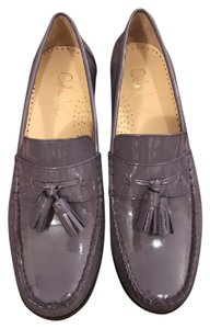 Cole Haan Patent Leather Tassels Purple Haze Flats