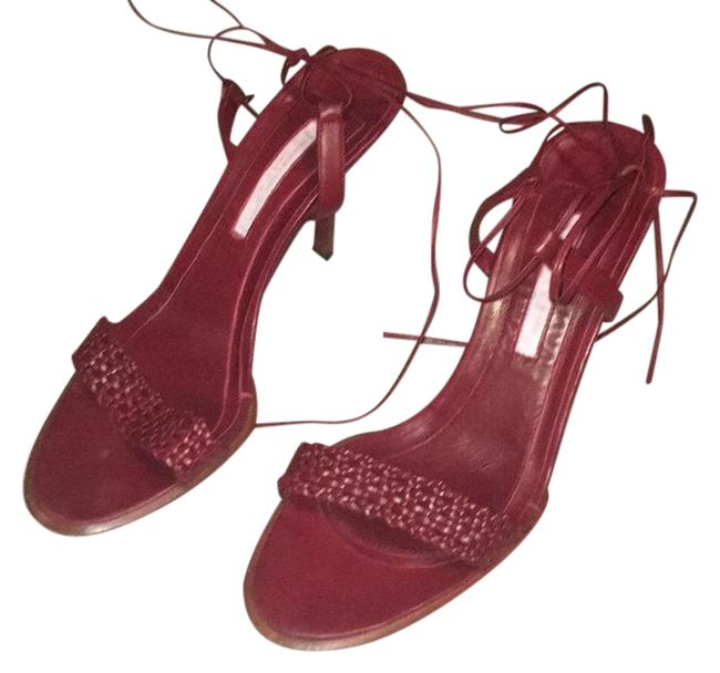 Narciso Rodriguez Red Sandals Size US 6.5 Regular (M, B) Narciso Rodriguez Red Sandals Size US 6.5 Regular (M, B) Image 1