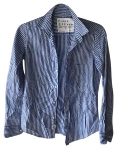 Frank & Eileen Button Down Shirt Blue