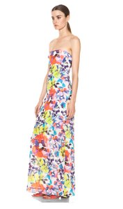 Multi Maxi Dress by Alice + Olivia Strapless Floral Koko Alice+olivia Silk