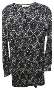 Tory Burch Silk Pattern Stretch Dress