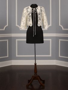 St. Pucchi Ivory and Gold J-007 Jacket