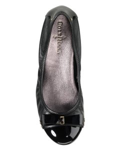 Cole Haan Leather Patent BLACK Flats