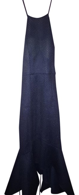 Bariano Navy Style: B24d37 Mid-length Formal Dress Size 0 (XS) Bariano Navy Style: B24d37 Mid-length Formal Dress Size 0 (XS) Image 1