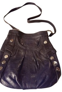 B. Makowsky Leather Handbag Shoulder Bag