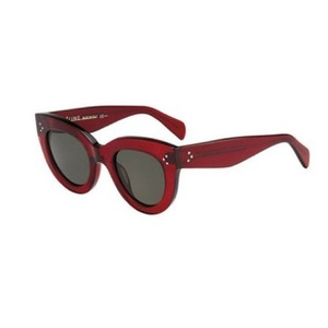 e47f6561698 Céline Burgundy Caty Cl41050s Red Cat Eye Sunglasses - Tradesy