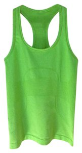 Lululemon Racer-back Stretchy Yoga Bright Top Green