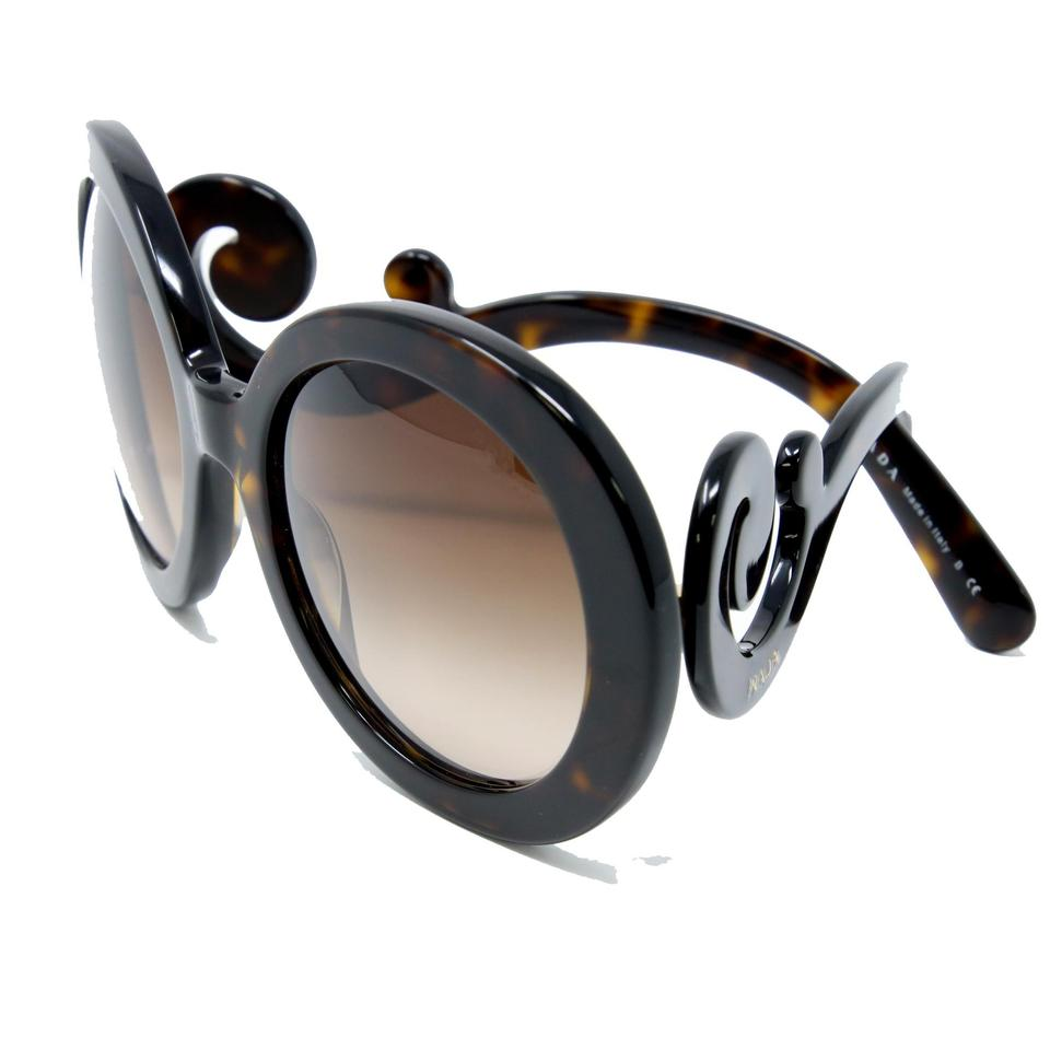 f47bad58f87a Prada Brown Signature Baroque Tortoise Blonde Havana Gradient Spr 27n  Sunglasses