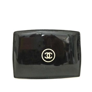 Chanel Chanel Signature CC Monogram Patent Leather Gloss Card Wallet