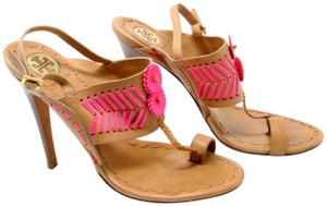Tory Burch Reva Sophia Miller Espadrille Chanel Tan and Pink Pumps
