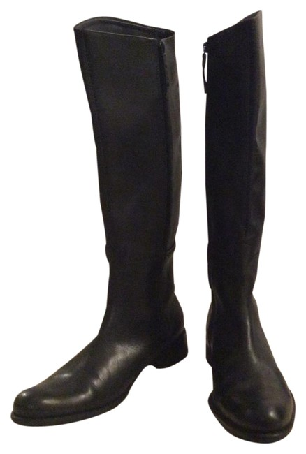 Item - Black Equestrian Style Leather Boots/Booties Size EU 39 (Approx. US 9) Regular (M, B)