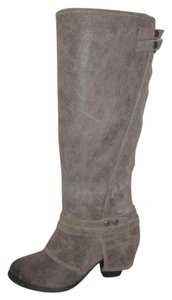 Fergie Leather Suede Distressed Lattitude Taupe Boots
