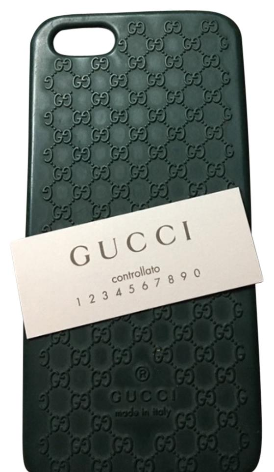 sale retailer 7ead9 0ee20 Gucci Green Iphone 5/5s Case Tech Accessory 70% off retail