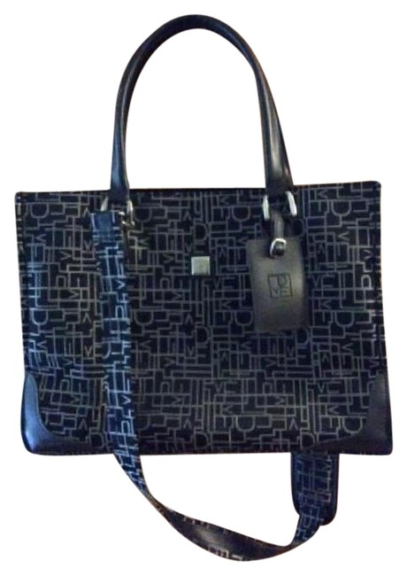 Item - Dvf Black and White Weekend/Travel Bag