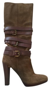 Nine West Green and brown Boots