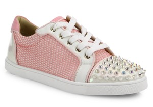 Christian Louboutin Gonodolita Spike Trainer Sneaker Flat pink Athletic