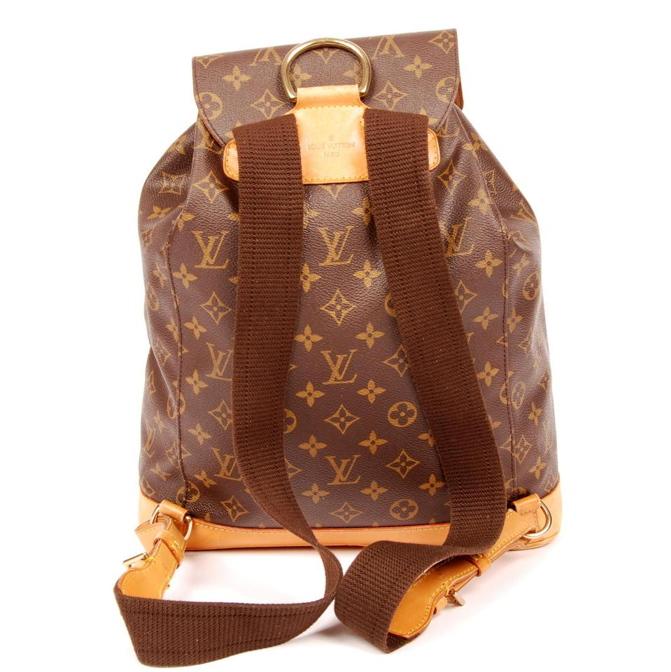 louis vuitton montsouris gm 4923 backpack on sale 36 off backpacks on sale. Black Bedroom Furniture Sets. Home Design Ideas