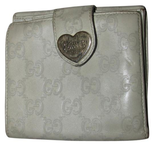 Gucci Gucci Monogrammed Taupe Like Color Leather Wallet Made in Italy