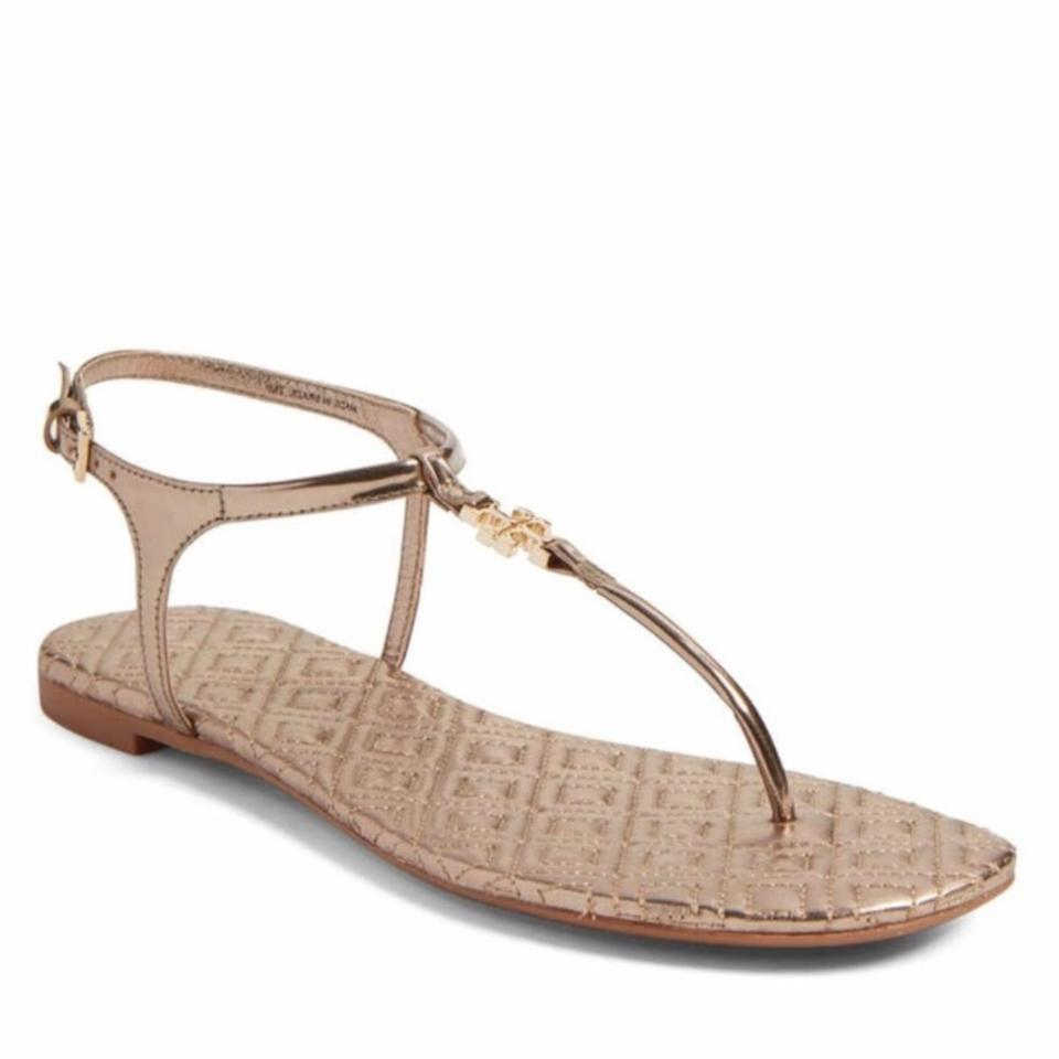 94597fa2b57 Tory Burch Marion Quilted Sandals Size US 8 Regular (M