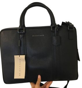 Burberry Leather Laptop Bag
