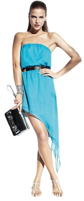 Preload https://item4.tradesy.com/images/mason-turquoise-above-knee-cocktail-dress-size-2-xs-2184653-0-0.jpg?width=400&height=650