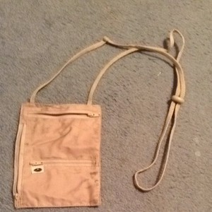 Austin house Passport/ Travel Anti Pickpocket Bag