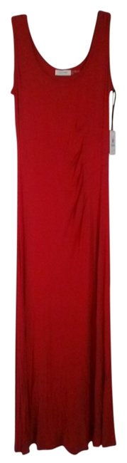 Preload https://item5.tradesy.com/images/calvin-klein-red-rutched-maxi-long-night-out-dress-size-8-m-2184744-0-0.jpg?width=400&height=650